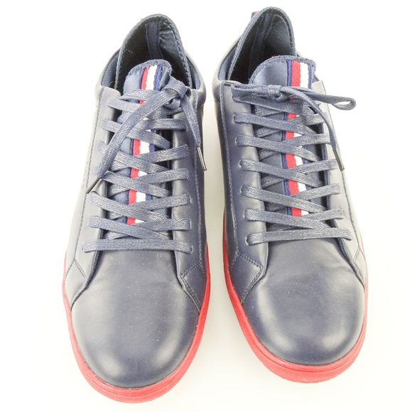 Tommy Hilfiger Other - Tommy Hilfiger Mens Premium Leather Sport Sneakers